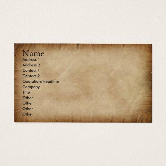 Create your own Profile Card parchment patriot