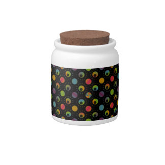 Create Your Own Rainbow Patterned Candy Jar