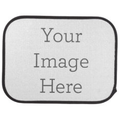 Create Your Own Rear Car Mat at Zazzle
