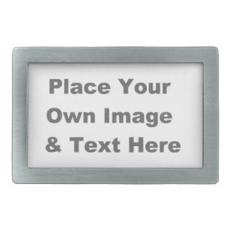 Create Your Own Rectangle Belt Buckle