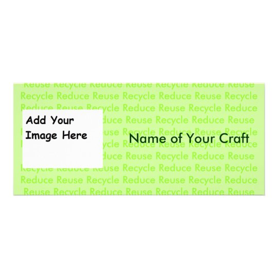 Create Your Own Recycle Cards