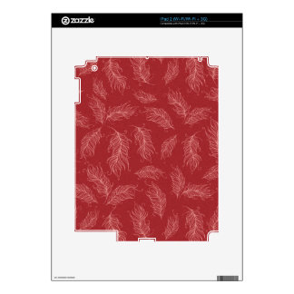 Create Your Own Red Feathers Decals For The iPad 2