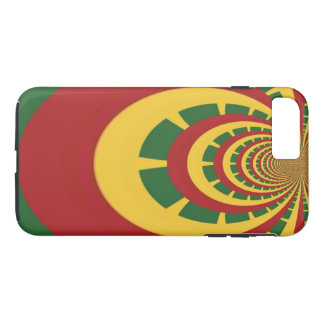 Create Your Own Red Golden Green Jamaicans iPhone 7 Plus Case
