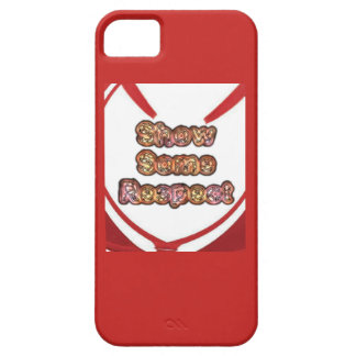 Create Your Own Red show some respect iPhone SE/5/5s Case