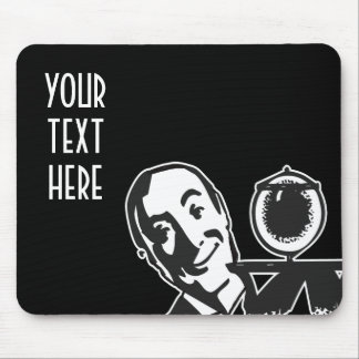 CREATE YOUR OWN RETRO BUTLER GIFTS MOUSEPAD