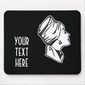 CREATE YOUR OWN RETRO RICH LADY GIFTS MOUSEPAD