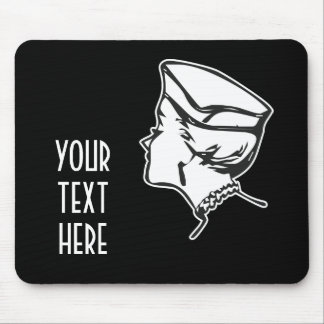 CREATE YOUR OWN RETRO SNOB GIFTS MOUSE PAD
