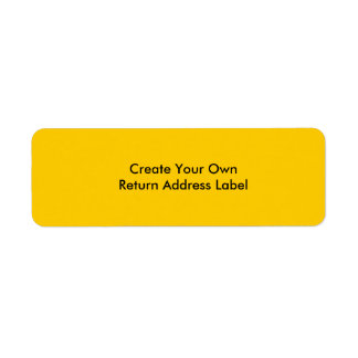 Create Your Own Return Address Label