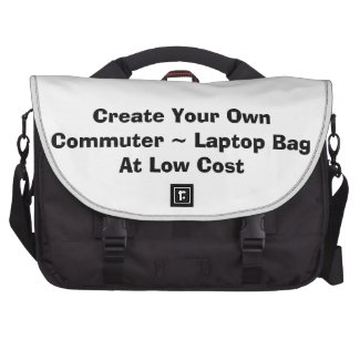 Create your own Rickshaw Commuter Laptop Bag with your images and text at low cost