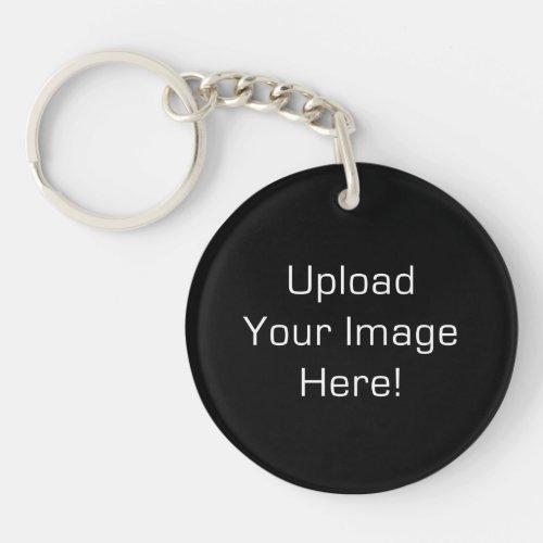 Create Your Own Round Acrylic Photo Keychain 2