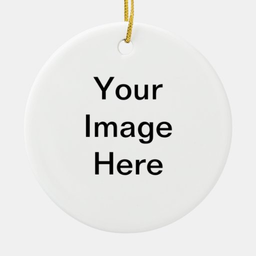 Create Your Own Round Ornament