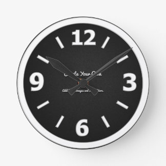 Create Your Own Round Wallclock