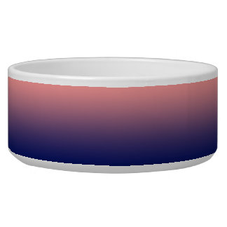 Create your own | salmon pink to blue gradient bowl