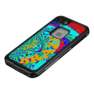 Beach Themed Create Your Own Samba Brazil fun colors LifeProof FRĒ iPhone 7 Case