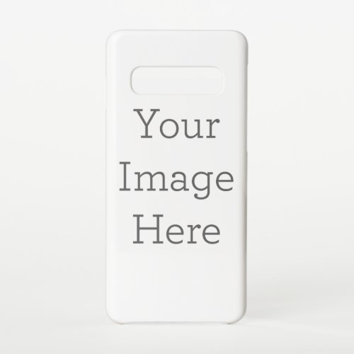 Create Your Own Samsung Galaxy S10 Case