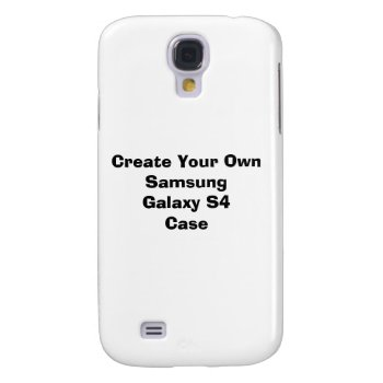 Create Your Own Samsung Galaxy S4 Case by DigitalDreambuilder at Zazzle