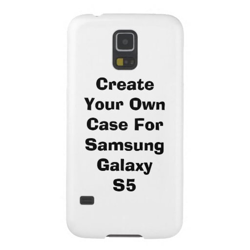 Create Your Own Samsung Galaxy S5 Case (CaseMate) Galaxy S5 Cover