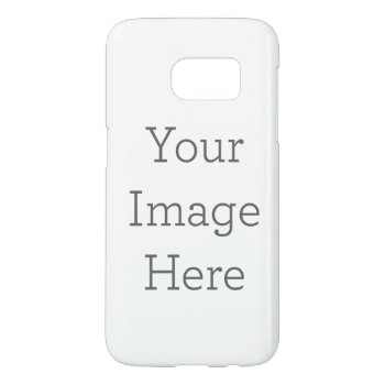 Create Your Own Samsung Galaxy S7 Case by zazzle_templates at Zazzle