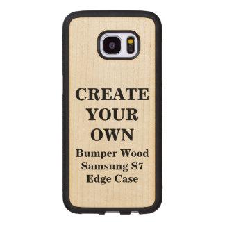 Create Your Own Samsung S7 Edge Bumper Wood Case