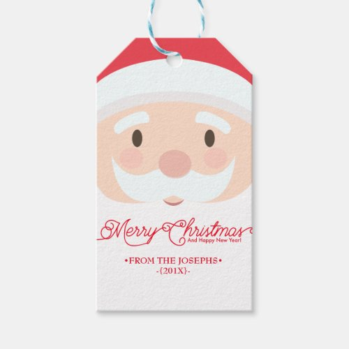 Create your own Santa Gift tags