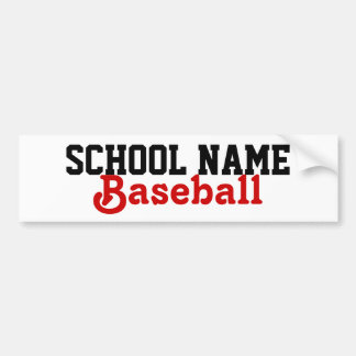 Create your own School Sport Bumpersticker Bumper Sticker
