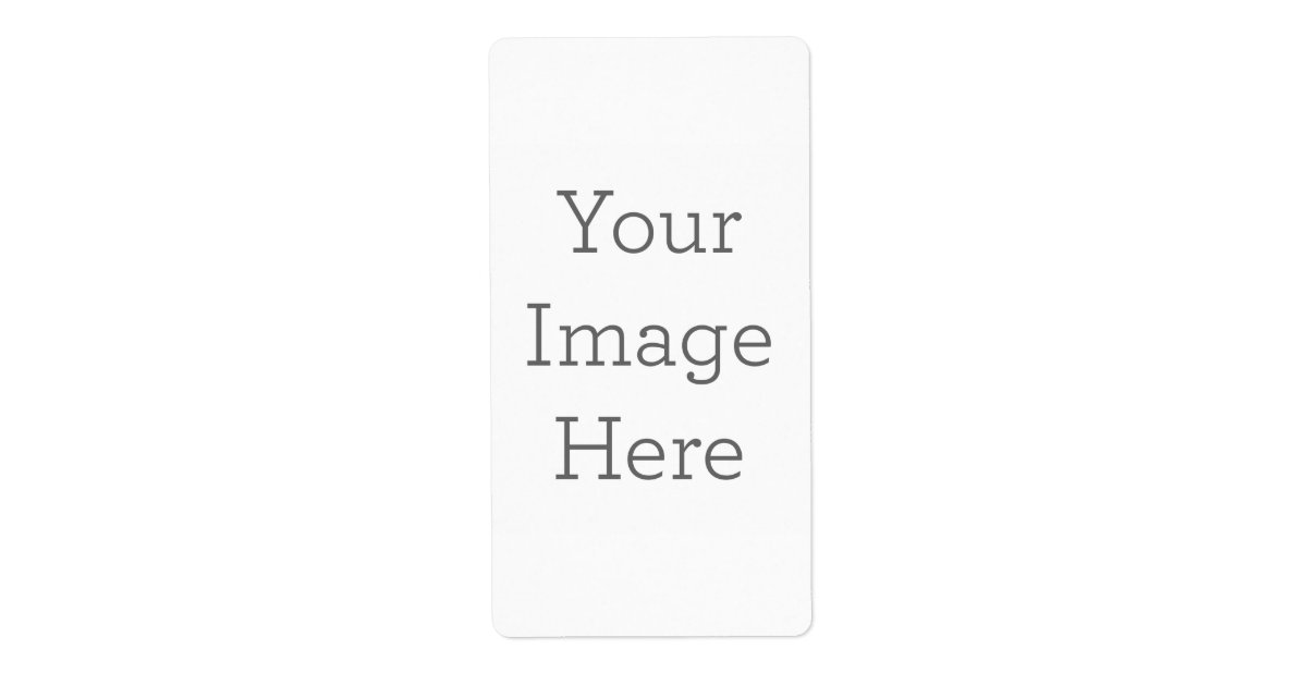Create Your Own Shipping Label Zazzle