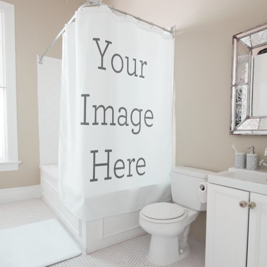Create Your Own Shower Curtain Zazzle Com