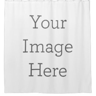 Create Your Own Shower Curtain at Zazzle