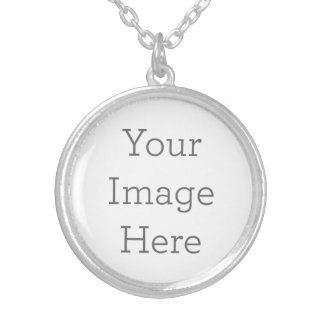 Create Your Own Silver Plated Round Necklace