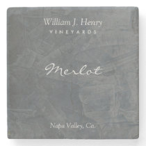 Create Your Own Slate Stone Wine Coasters