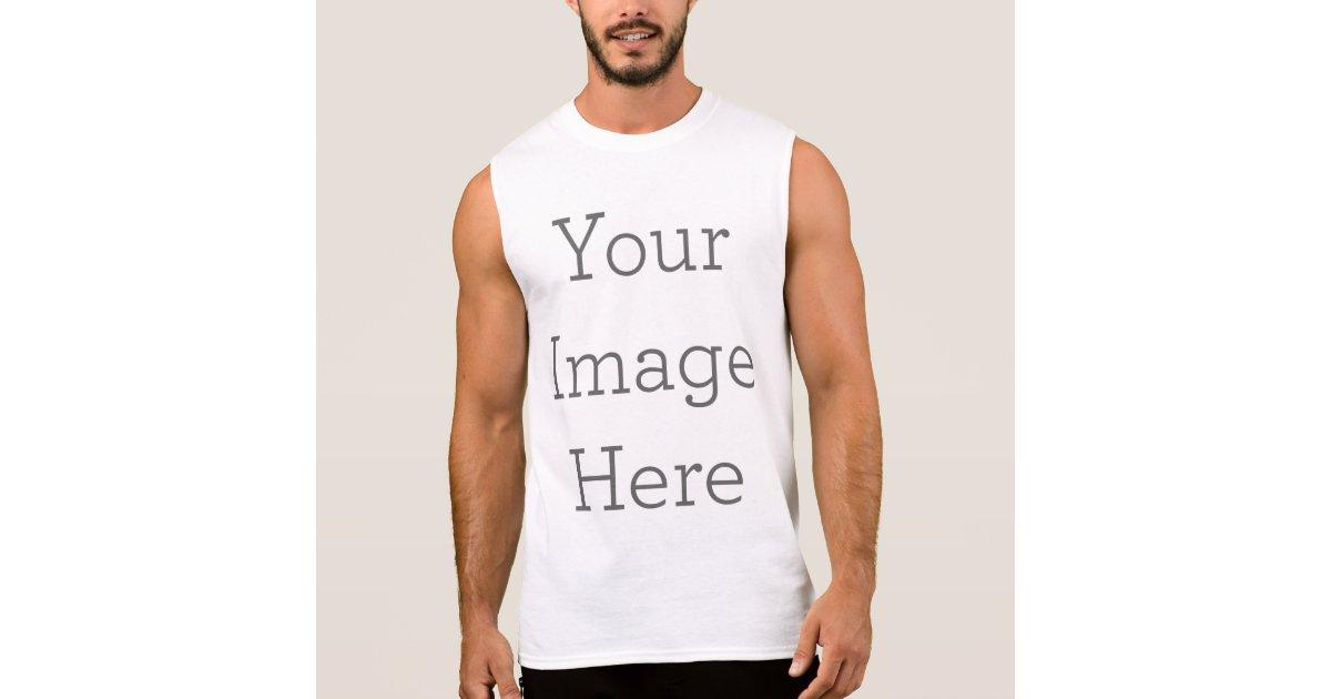 18d5ba90 Create Your Own Sleeveless Shirt | Zazzle.com