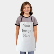 Create Your Own Small / Kids All-Over Print Apron