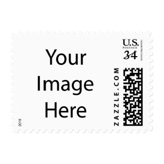 Create Your Own Small Post Card Postage Stamp