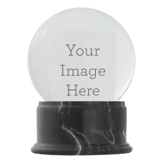 Create Your Own Snow Globe Zazzle Com