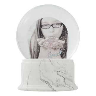 Create Your Own Snow Globe Online Custom Photo
