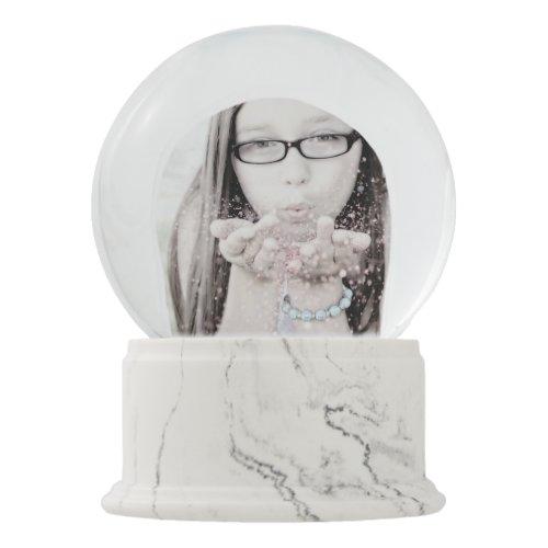 Create Your Own Snow Globe Online Custom Photo