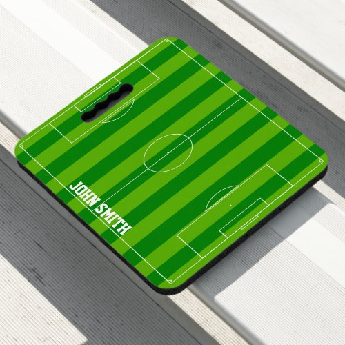 Create Your Own Soccer Game Name Template Seat Cushion