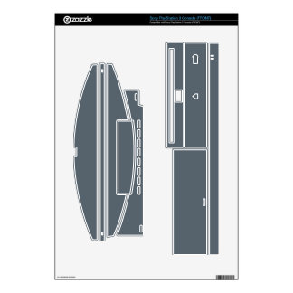 Create Your Own Sony PlayStation 3 Console Skin Decal For PS3