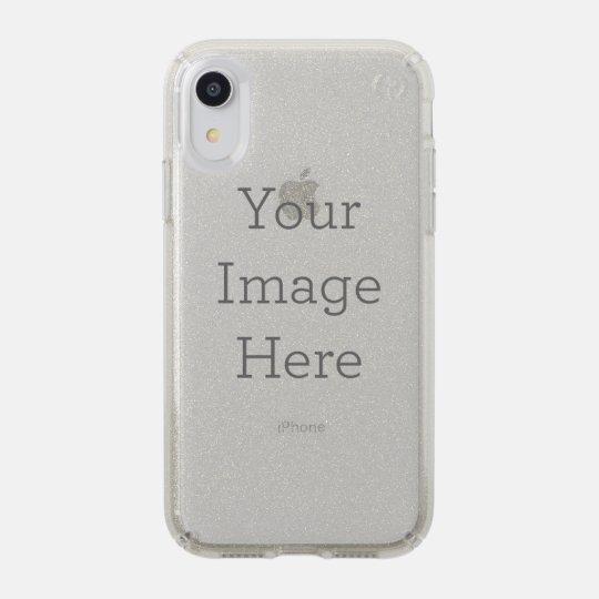 pretty nice d2412 55d99 Presidio Glitter Silver Apple iPhone XR