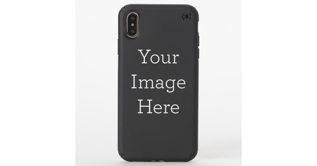 new style d2b98 e62d5 Create Your Own Speck iPhone XS Max Case | Zazzle.com