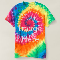 Create Your Own Spiral Tie-Dye T-Shirt