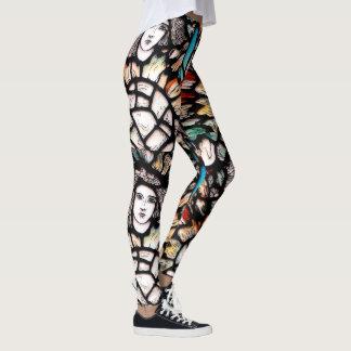 Create your own spiritual Yoga Pants Long colorful