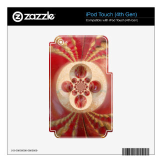 Create Your Own sport cute pretty cricket Art Decals For iPod Touch 4G
