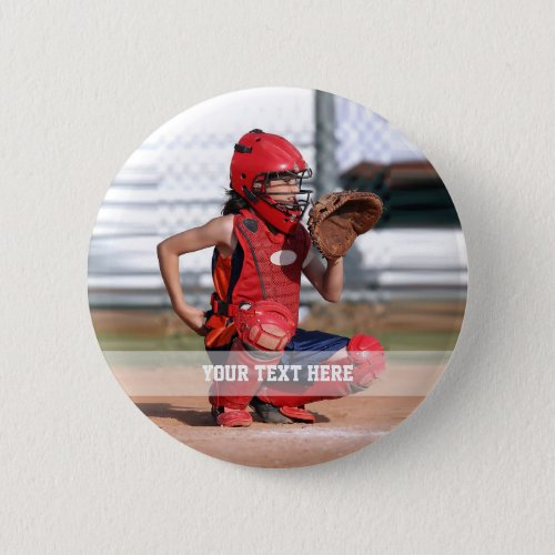 Create Your Own Sports Photo Button