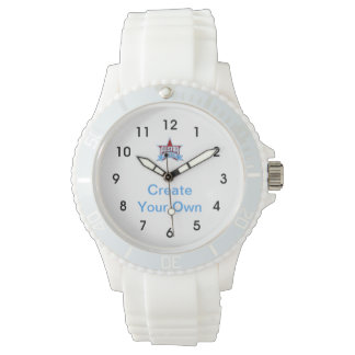 Create Your Own Sporty White Watch