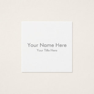 Square business cards templates zazzle create your own square business card cheaphphosting Image collections