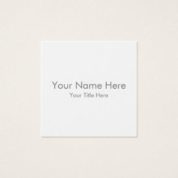 Aztec Themed Create Your Own Square Business Card