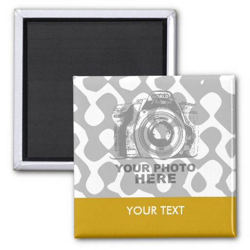 Create Your Own Square Magnet Horizontal
