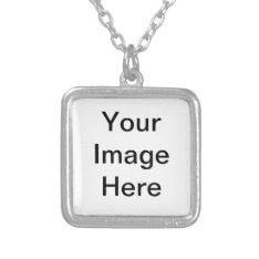 Create Your Own Square Necklace at Zazzle