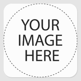 Create Your Own Square Sticker